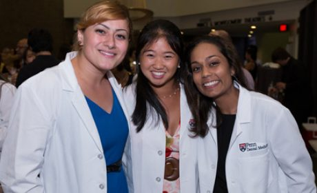 White Coat Ceremony Welcomes Class of 2017