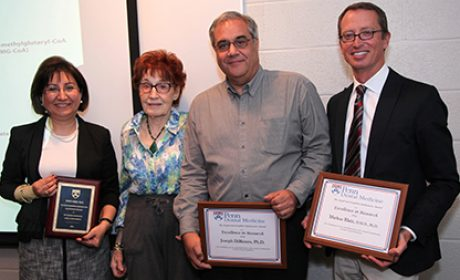 Dr. Fusun Ozer Receives Rabinowitz Award for Excellence in Research
