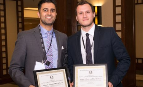 Student Research Recognized by American Academy of Oral & Maxillofacial Radiology