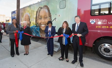 Penn Dental Celebrates Launch of New PennSmiles Mobile Clinic