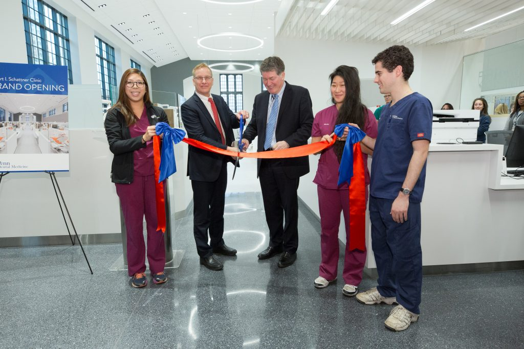 Penn Dental Medicine Penn Dental Celebrates State-of-the-Art Renovation of its Main Clinic