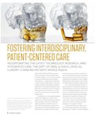 Fostering Interdisciplinary, Patient-Centered Care
