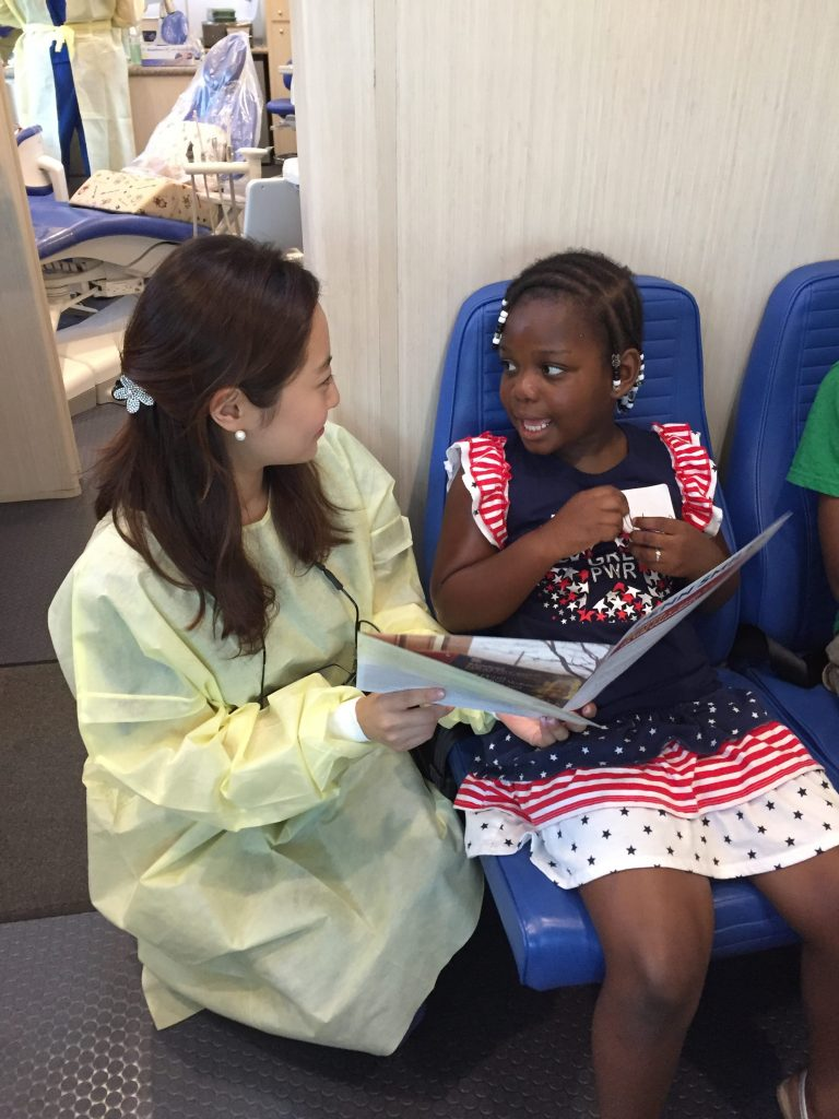 Through a series of four service day events, the School teamed with Keystone First to provide care to children at Penn Dental at Sayre in West Philadelphia.
