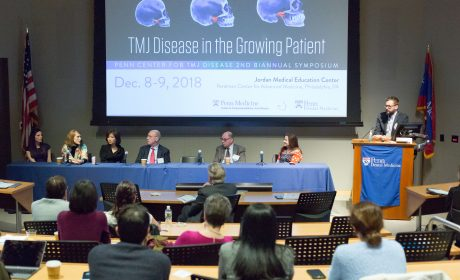 Oral Surgery Department Presents TMJ Symposium, Honors Dr. Peter Quinn