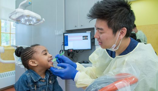 Students, Faculty Provide Free Care to Area Children through Give Kids a Smile