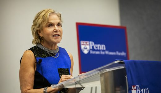 School Hosts Penn Forum for Women Faculty's Phoebe S. Leboy Lecture with Judith Rodin