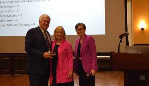 Dr. Joan Gluch Recognized for Community Partnerships