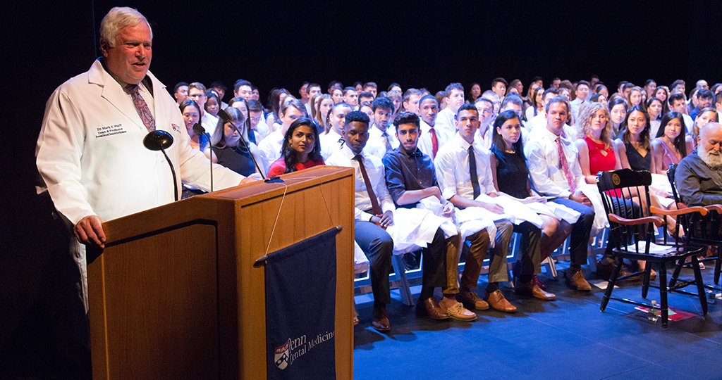 Class of 2023 White Coat Ceremony was held Monday, August 12.