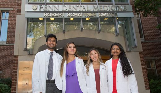 Penn Dental Medicine Welcomes Class of 2023 with White Coat Ceremony