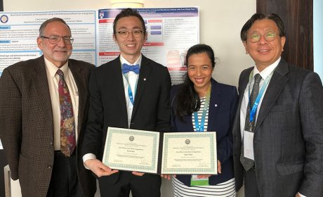 Prosthodontics Students Take Top Award for Research