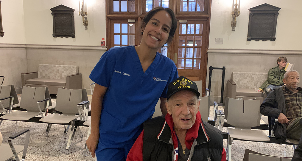 Penn Dental Medicine students and faculty provided a day of free dental screenings to area Veterans on Nov. 12.
