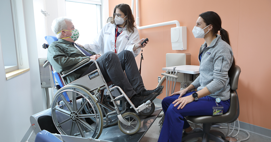 The Personalized Care Suite is the clinical care portion of the Care Center for Persons with Disabilities